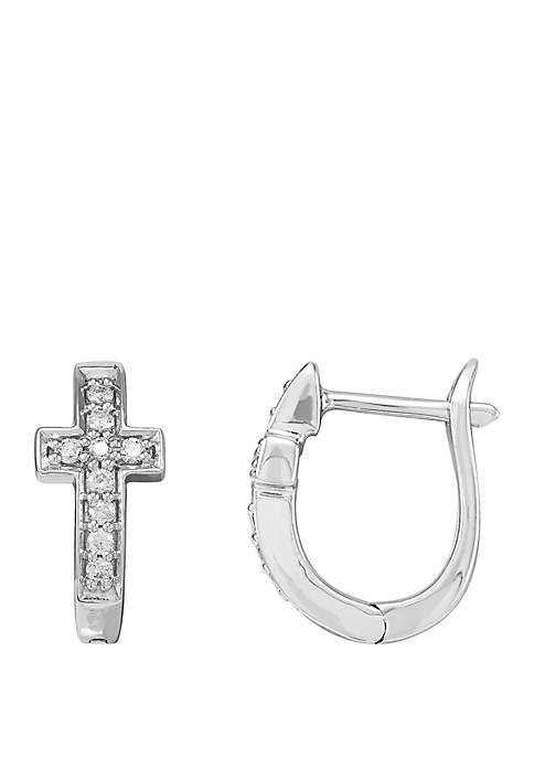 Belk & Co. 1/5 ct. t.w. Diamond Cross