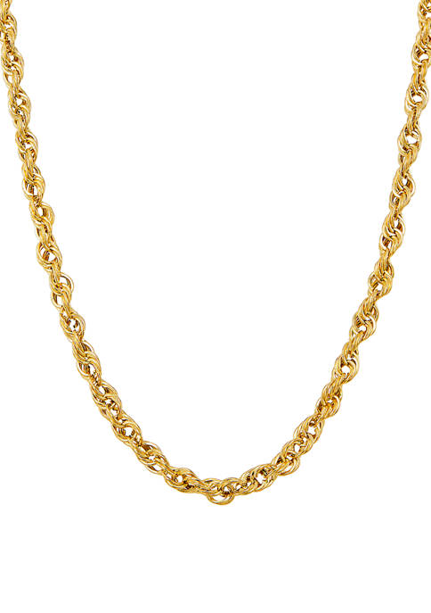 Belk & Co. 5 Millimeter Cashmere Rope Chain