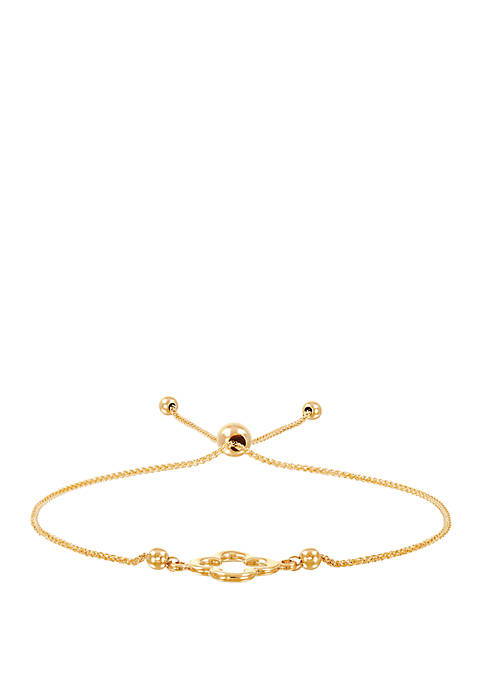 Clover Bracelet in 10k Yellow Gold