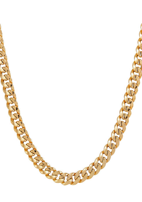 Belk & Co. 9.25 Millimeter Hollow Curb Chain