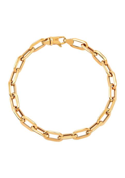Belk & Co. Oval Paperclip Chain in 10K