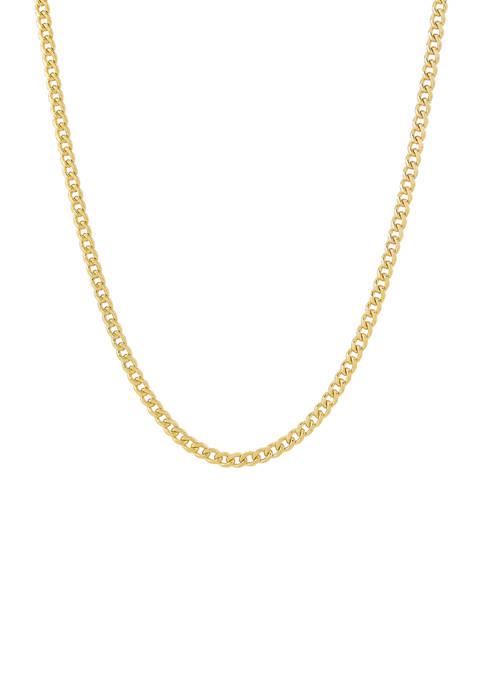 Belk & Co. Cuban Chain Necklace in 10K