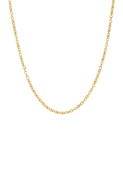 Belk & Co. 18 Inch Chain Necklace in