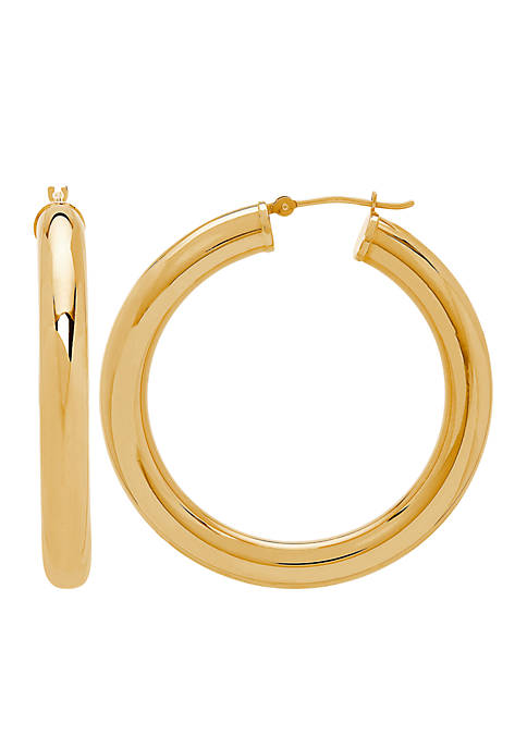 Belk & Co. 10 ct. t.w. Hoop Earrings