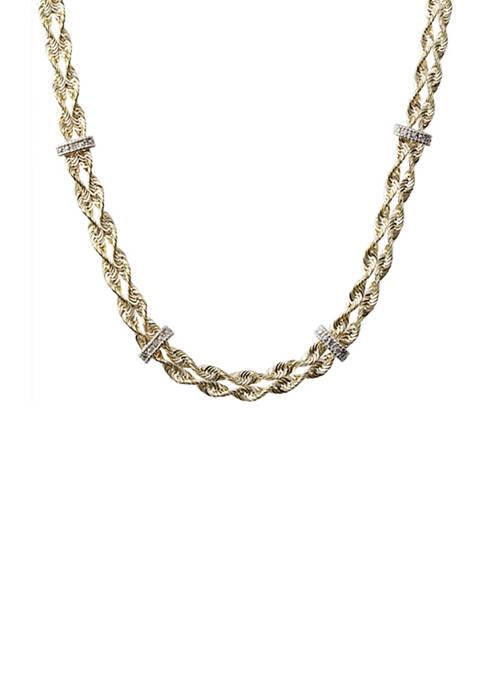 Belk & Co. 1/10 ct. t.w. Diamond Rope