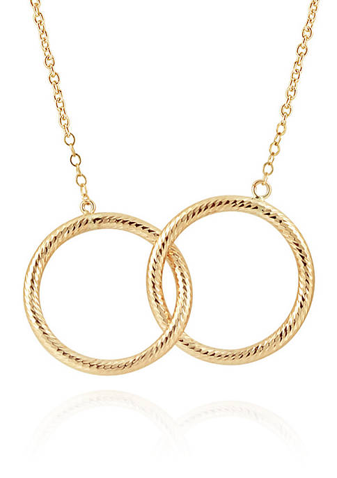 Necklace in 10K Yellow Gold