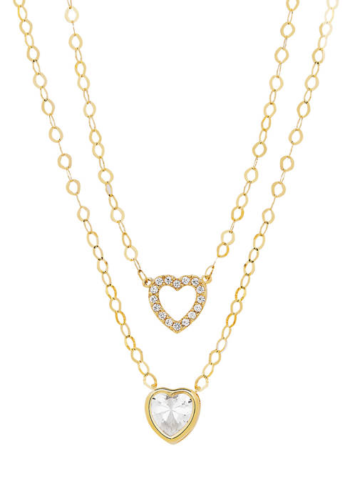 Belk & Co. 10K Yellow Gold Necklace