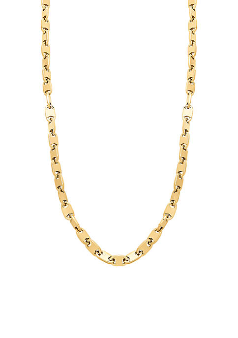Belk & Co. Mens Link Chain Necklace in