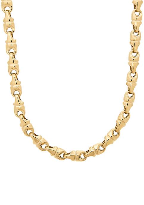 Belk & Co. Mens Diamond Cut Link Chain