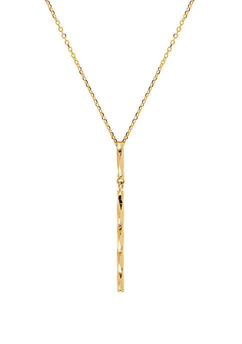 Belk & Co. 10K Yellow Gold Cable Chain