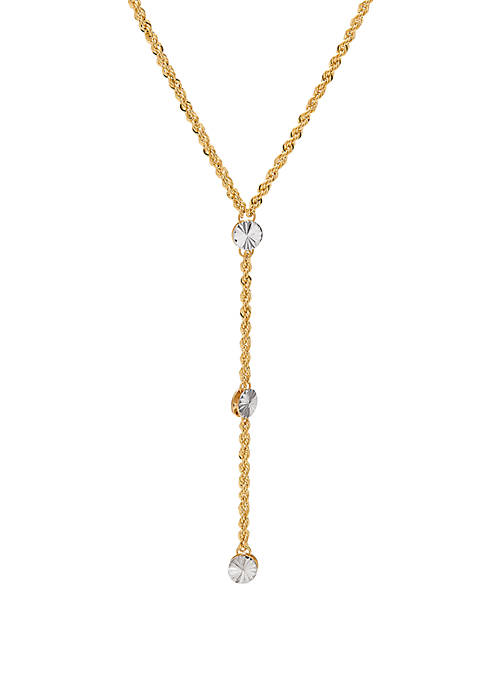 Belk & Co. Double Layer Rope Chain Necklace