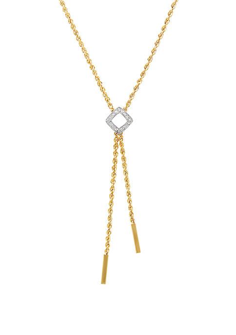 Belk & Co. 0.01 ct. t.w. Diamond Rope