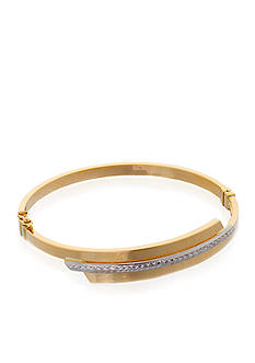 Belk & Co. 10K Yellow Gold Bypass Bracelet