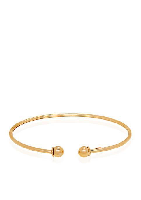 Cuff Bracelet in 10K Yellow Gold