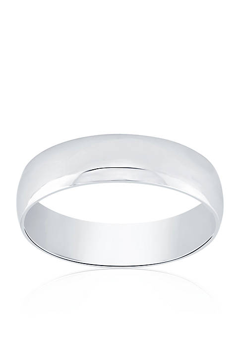 Belk & Co. Polished Comfort Fit Ring in