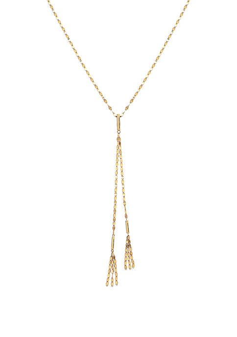 Belk & Co. 10K Yellow Gold Necklace with