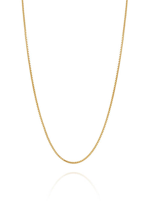 Belk & Co. 14K Yellow Gold Solid Box