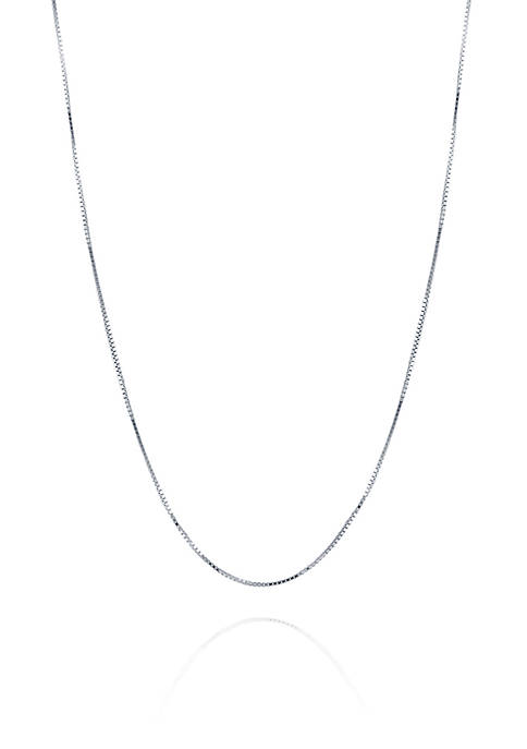 Belk & Co. Chain Necklace in 14K White