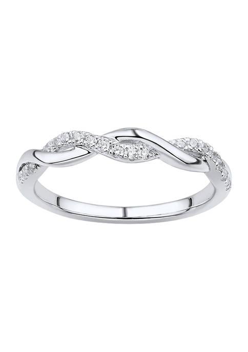 Belk & Co. 1/8 ct. t.w. Diamond Wedding