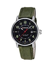 Wenger® Men's Attitude Outdoor Nylon Strap Swiss Watch