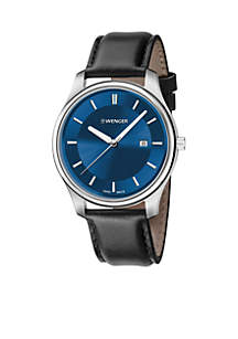 Wenger® Classic Leather Watch