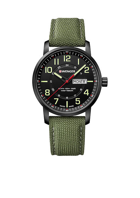 Attitude Day And Date PVD Case Watch