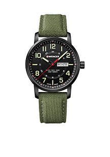 Wenger® Attitude Day And Date PVD Case Watch