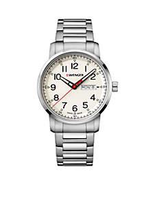Wenger® Men's Stainless Steel Wenger Attitude Heritage Bracelet Watch