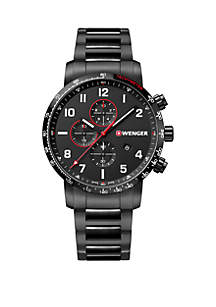 Wenger® Stainless Steel Attitude Bracelet  Watch