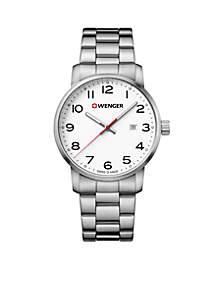 Wenger® Men's Stainless Steel Wenger Avenue Bracelet Watch