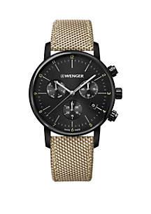 Wenger® Urban Classic Nylon Strap Watch