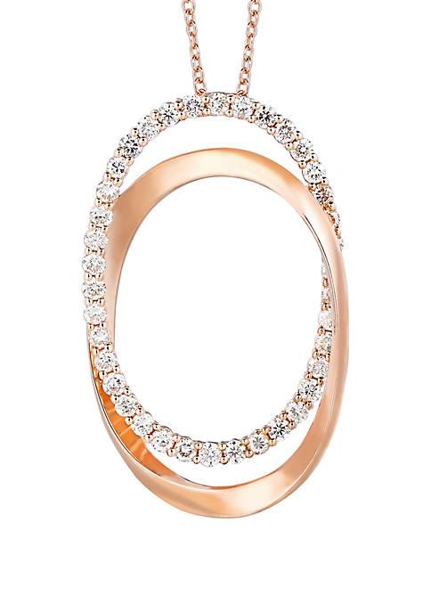 Le Vian® 5/8 ct. t.w. Vanilla Diamonds® Pendant