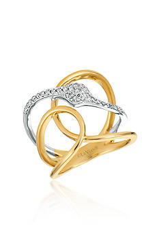 Le Vian® Vanilla Diamonds® Ring in 14K Two-Toned Gold