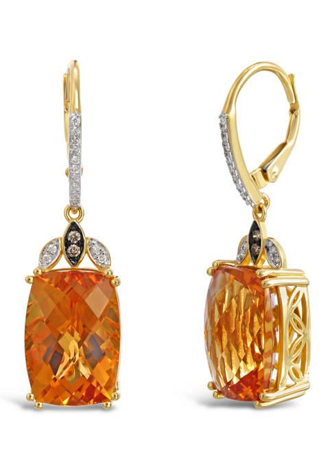 Le Vian® Earrings with 11.60 ct. t.w. Cinnamon