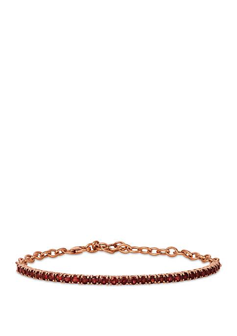 2.5 ct. t.w. Pomegranate Garnet™ Adjustable Bracelet in 14k Strawberry Gold®