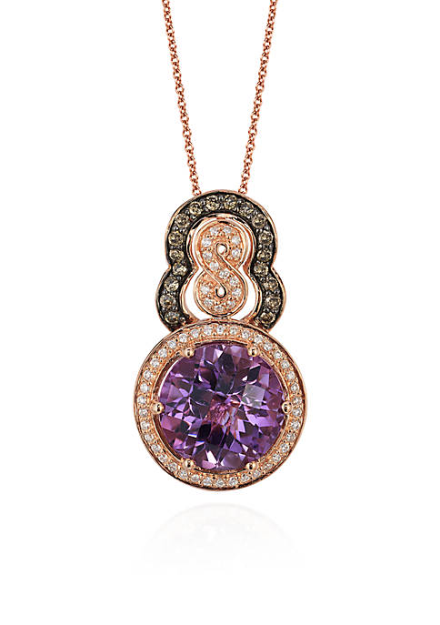 Le Vian® Chocolatier® Grape Amethyst™ 8 Pendant