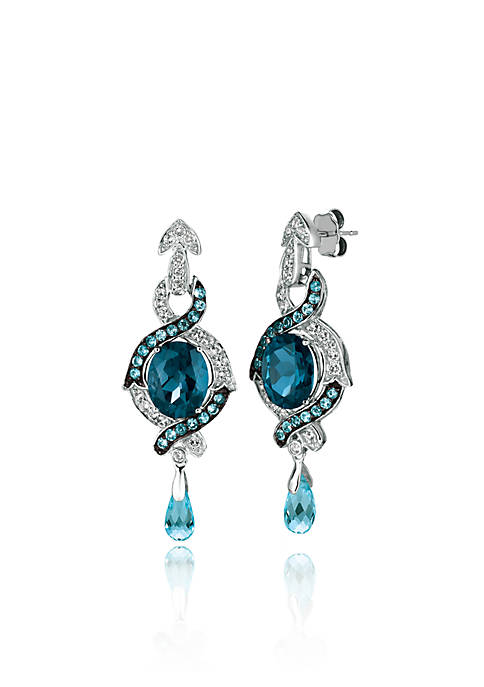 Le Vian® Deep Sea Blue Topaz™ with Ocean