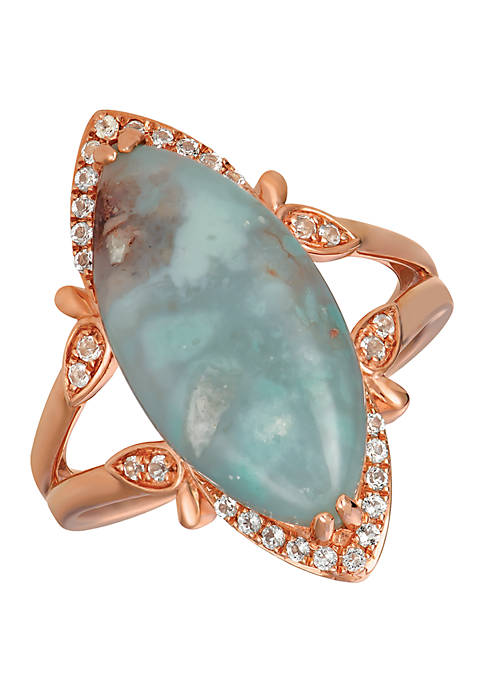 Le Vian® 5 ct. t.w. Peacock Aquaprase™ and