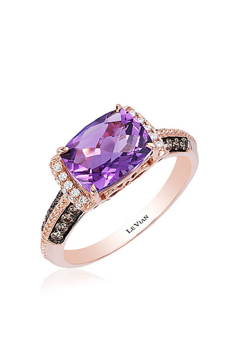 Le Vian® Grape Amethyst Chocolate And Vanilla Diamonds