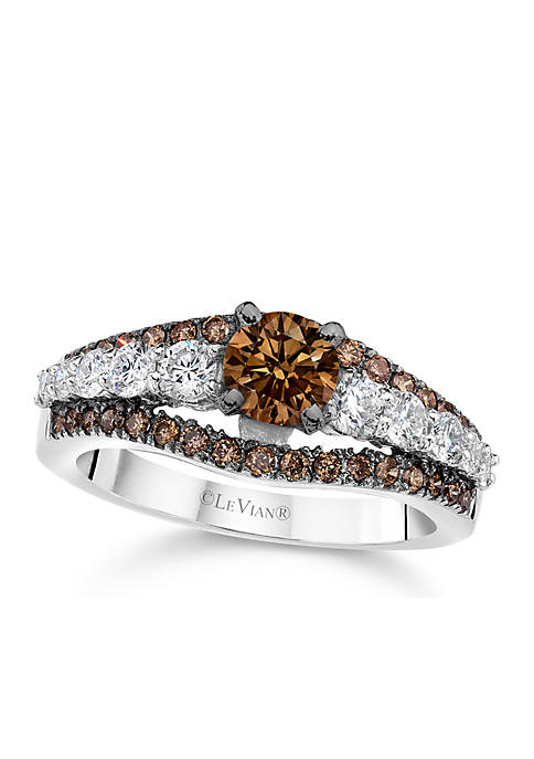 Le Vian® Chocolate Diamonds and Vanilla Diamonds Bridal