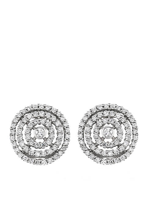 Le Vian Earrings with Vanilla Diamonds in 14K Vanilla Gold