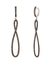 Le Vian Chocolatier Earrings with Chocolate Diamonds set in 14K Vanilla Gold