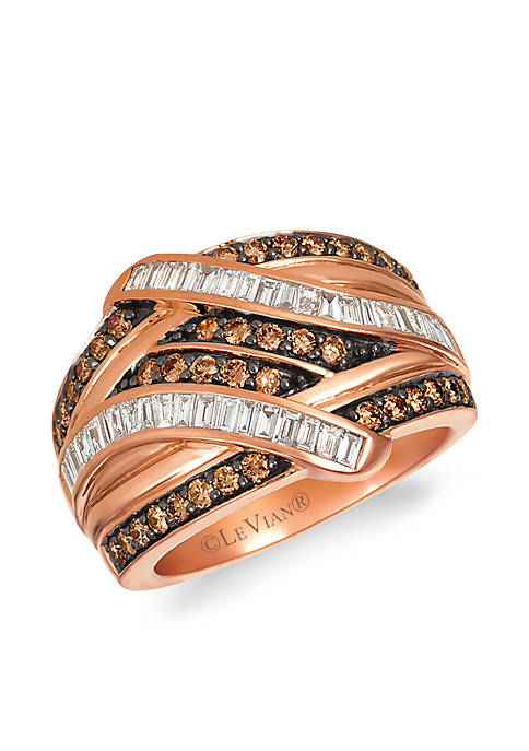 Le Vian® Baguette Frenzy™ 5/8 ct. t.w. Chocolate