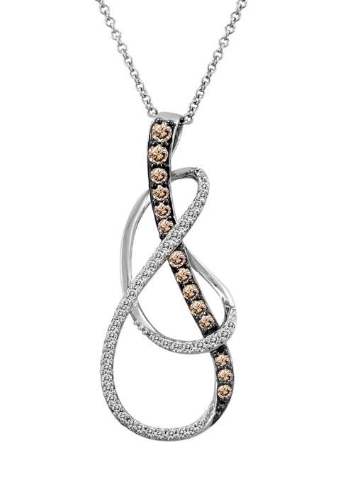 Le Vian® 1/4 ct. t.w. Chocolate Diamond® and