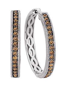 2/3 ct. t.w. Chocolate Diamonds®  Earrings in 14k Vanilla Gold®