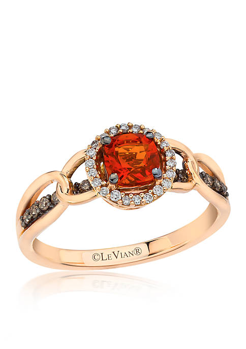 Le Vian® Neon Tangerine Fire Opal and Chocolate