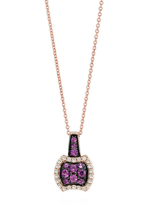 Le Vian® 1/3 ct. t.w. Pink Sapphire and