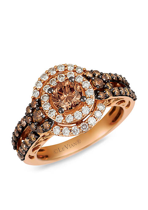 Le Vian® Le Vian Bridal Ring with Chocolate