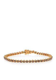 Le Vian® Chocolatier Tennis Bracelet in 14K Strawberry Gold®