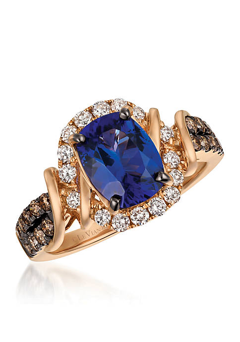 Le Vian® Blueberry Tanzanite and Chocolate & Vanilla